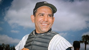 Yogi Berra. The uncle everyone loves in the baseball world. (baseballsnatcher.mlblogs.com)