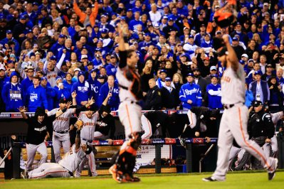 The San Francisco Giants won the World Series in Kansas City last year. Who will win this year? (www.popsugar.com)