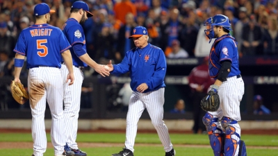 Terry Collins left Matt Harvey in Game 5 just a little too long and it cost the Mets. (www.knbr.com)