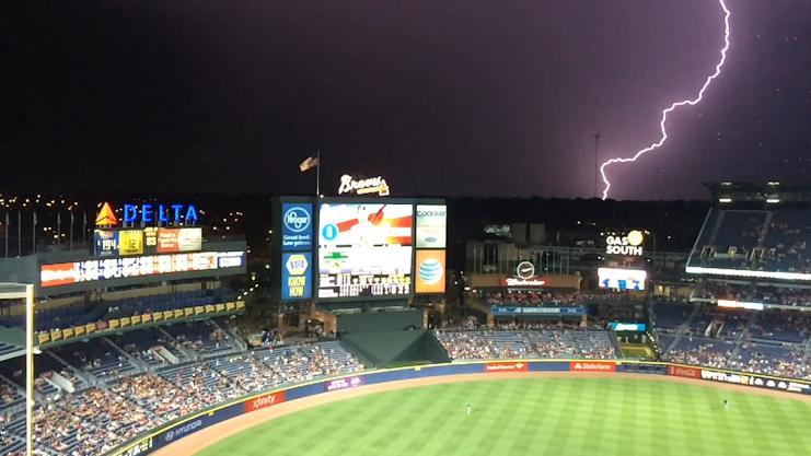 Braves Lightning